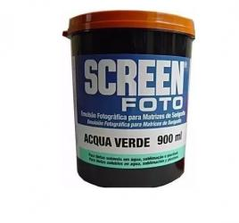 Emulsão Screen Foto Acqua Verde Agabê 900ml - Código 2711